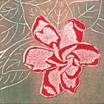 Rose (unframed image size: 10cmx10cm)