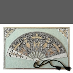 Fancy Fan (unframed image size: 10x15cm)