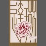 Chinese Peony (unframed image size: 16cmx24.5cm)