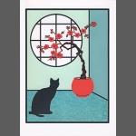 Plum Blossom (unframed image size: 19cmx25cm)